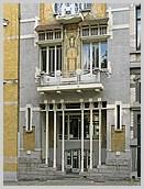 br ssel belgien art nouveau jugendstil art d co foto wohnhaus fassadengestaltung. Black Bedroom Furniture Sets. Home Design Ideas