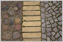 straßenpflaster, kleinpflaster, kopfsteinpflaster, großpflaster, Garten und Bauen