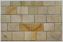 hofmauer mit steine